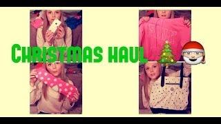 ♡ CHRISTMAS HAUL 2013 ♡