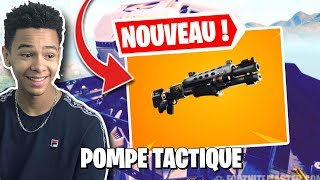 🔴THE NEW TACTIC POMPE IS DISPONIBLE ON FORTNITE! Creative code: Kenzis