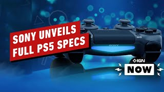 PlayStation 5 Specs Detailed - IGN Now