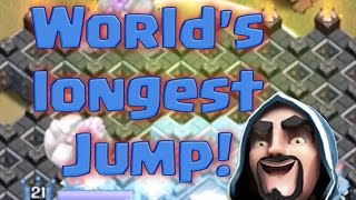 Clash Of Clans | MASSIVE Jump | Clash of Clans Clan War clutch raids