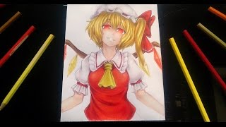 Drawing Flandre Scarlet from Touhou