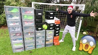 MY ENTIRE FOOTBALL BOOT COLLECTION!! (Worth $20,000)