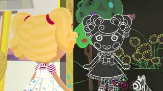 "Lalaloopsy ""Spot Draws the Line"" Preview Clip"