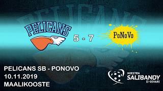 Pelicans SB - PoNoVo | 2. divisioona | 10.11.2019 maalikooste