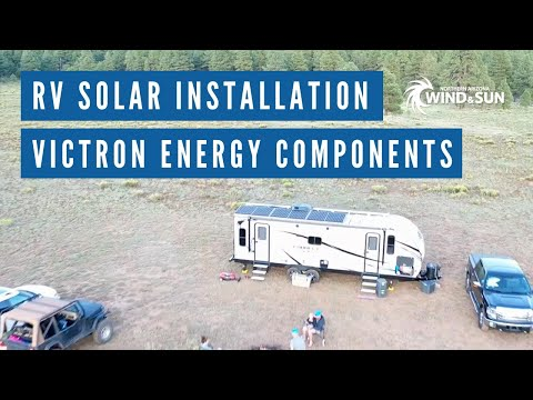 RV Solar System Install with Victron Energy Components