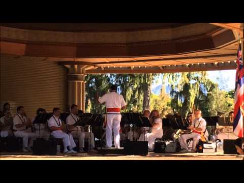royal hawaiian band city and county of honolulu performed VNCH song at 2015 Tet Festival