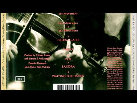 Michael Kamen & David Sanborn 8.  Waiting for Daddy (Theme from Brazil)