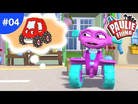 Paulie y Fiona 2 | 04 El Camion Monstruo | Caricaturas para Niños | Caricaturas en Español