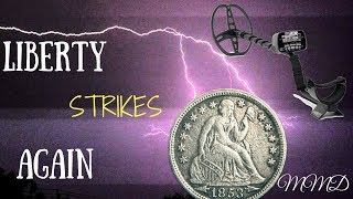 Metal Detecting Seated Coins | Episode 24 | Liberty Strikes Again