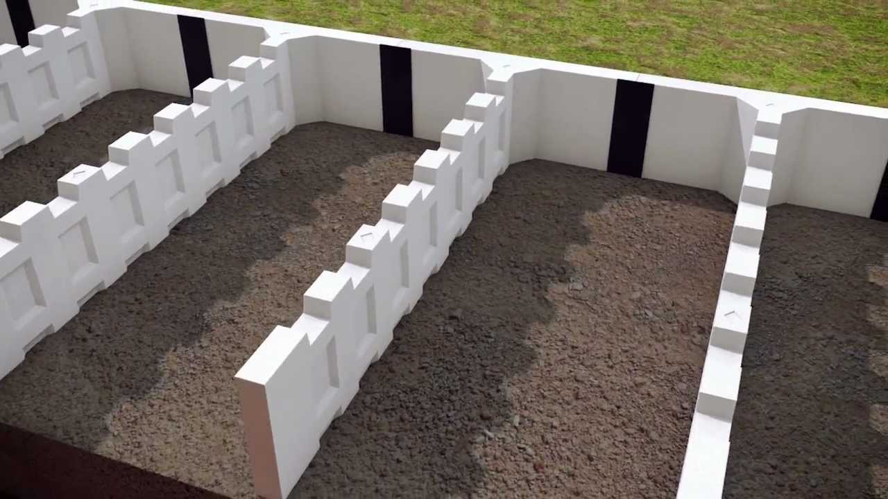 T Wall Retaining Wall Systems Youtube
