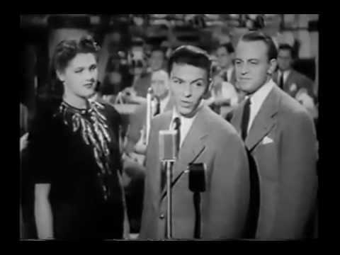 "Frank Sinatra and the Tommy Dorsey Orchestra - ""I'll Never Smile Again"" from Las Vegas Nights (1941)"