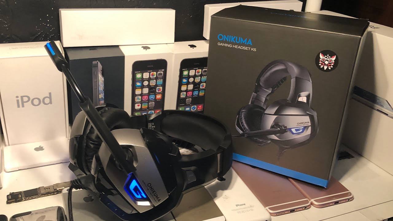 How good is a $25 gaming headset? Onikuma gaming headset unboxing and  review!