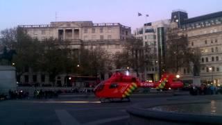 London air ambulance trafalgar square