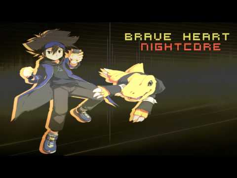 Nightcore - Brave Heart [Digimon]