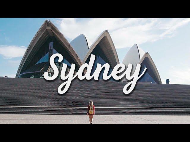 La ciudad de Sídney en un minuto - Vivir en Sídney