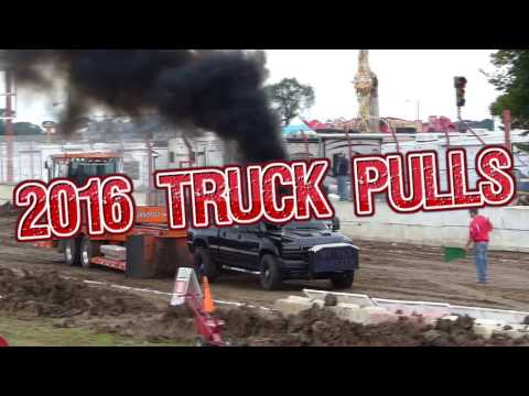 Badger Truck Pullers Association at the 2016 Dodge County Fair Wisconsin