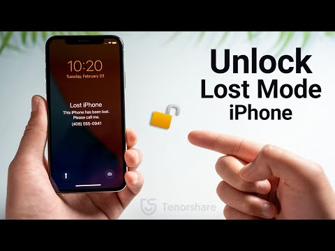 How to Unlock Lost Mode iPhone without Passcode or Apple ID 2021