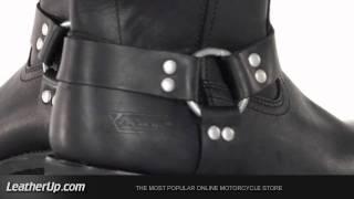 Xelement 1442 Classic Mens Black Harness Motorcycle Biker Boots 11