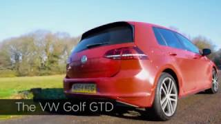 The VW Golf GTD Review. Its a fiesty one!