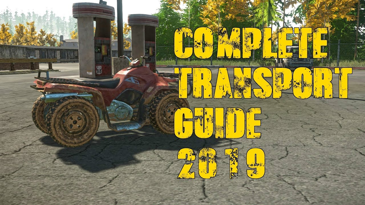 Miscreated Karte.Complete Transport Guide 2019 Miscreated 1 0