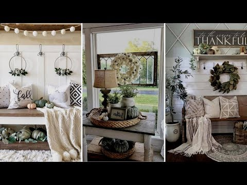 ❤DIY Rustic Farmhouse style Fall Home decor Ideas❤ | Home decor & Interior design| Flamingo Mango