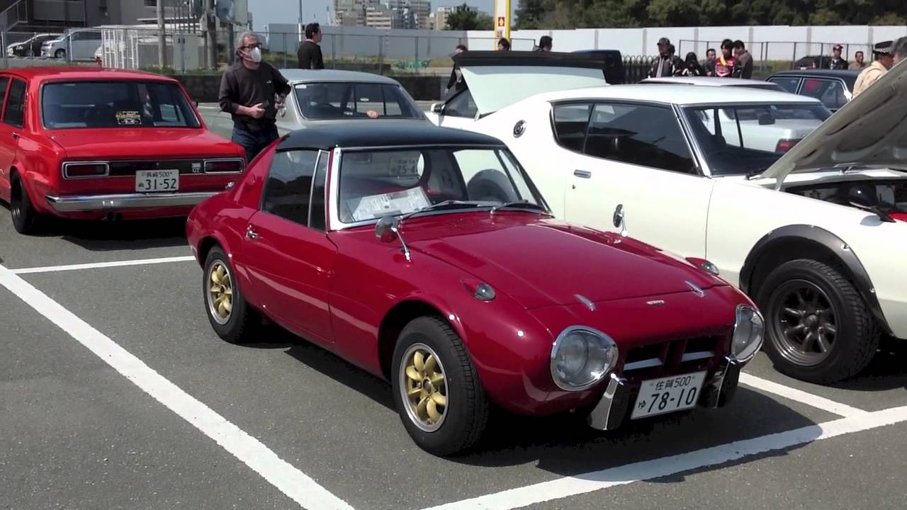 Tasty Toyota S800 An Early Boxer Engined Sports Car From Japan
