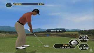 Tiger Woods PGA Tour 08 PS2 Gameplay HD