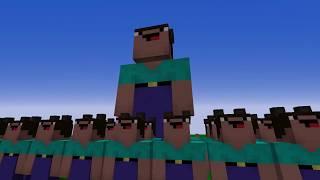 МОД НА НУБА С ОРУЖИЕМ против 1000 КЛОНОВ СУПЕР НУБОВ - Троллинг НУБА в Minecraft Серия 14