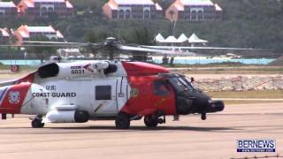 Coast Guard Helicopter Take Off, Feb 10 2013