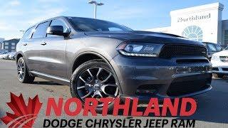 Walk Around 2018 Dodge Durango R/T | Northland Dodge | Auto Dealership in Prince George BC