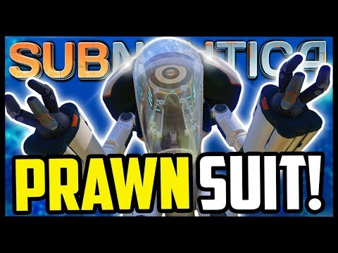 THE MIGHTY PRAWN SUIT! | Finding All Prawn Suit Fragments | Subnautica  - Gameplay