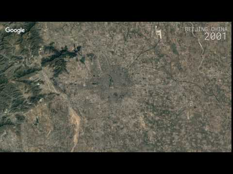 Google Timelapse: Beijing, China