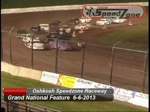 Oshkosh Speedzone Raceway - June 6, 2013 - Grand National Feature