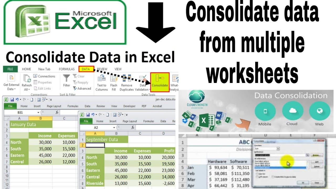 hight resolution of how to create a pie chart in excel with multiple data - YouTube