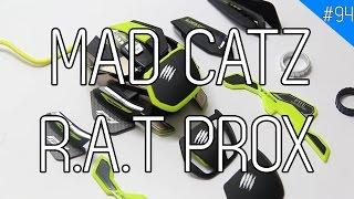 MAD CATZ R.A.T. PRO X: Chuột chơi game đắt nhất thế giới?