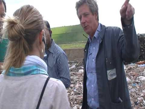 Waste cell In Hooge Mae Landfill Belgium