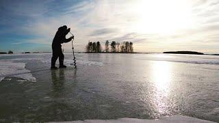 Ловля окуня на Сямозере Рыбалка весной 2020