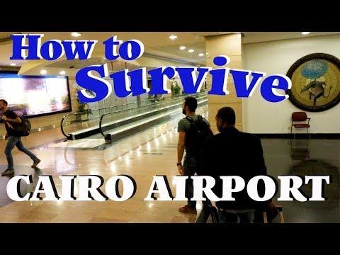 Cairo Airport HOW TO SURVIVE Plus EgyptAir 737-800 Economy Class Flight To Aswan