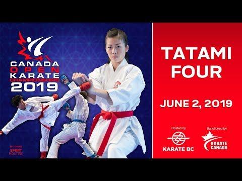 2019 Canada Open Karate Championships - DAY 2 - Tatami 4