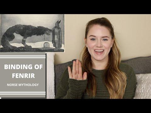 NORSE MYTHOLOGY | BINDING OF FENRIR | SHELBY FUQUA
