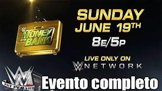 WWE Money in the Bank 2017 evento completo español latino
