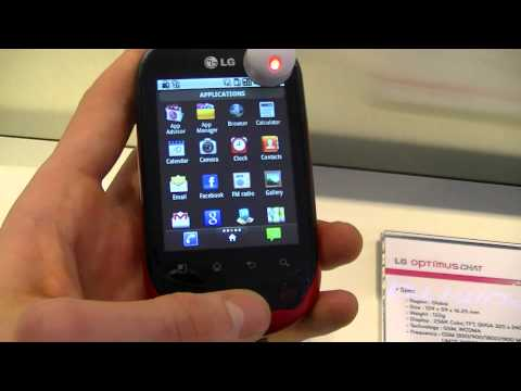 Dutch: LG Optimus Chat hands-on