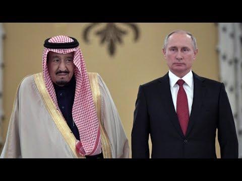 Putin meets Saudi King Salman in Moscow