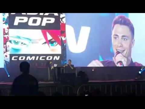 Colton Haynes a.k.a Roy Harper / Arsenal in AsiaPOP Comicon Manila 2015