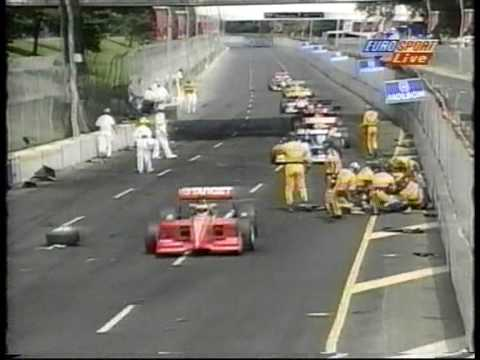 Jeff Krosnoff (R.I.P.14.7.96) HorrorCrash ChampCar-WorldSeries Toronto'96 GERMAN-TV