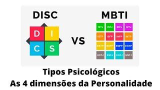 Teoria dos Tipos Psicológicos - As 4 dimensões da personalidade