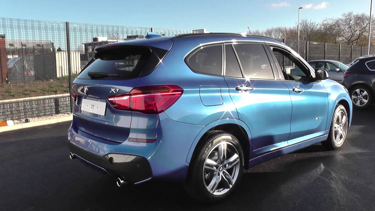 bmw x1 f48 x1 xdrive20d m sport b47 zmx3 u6574 youtube. Black Bedroom Furniture Sets. Home Design Ideas