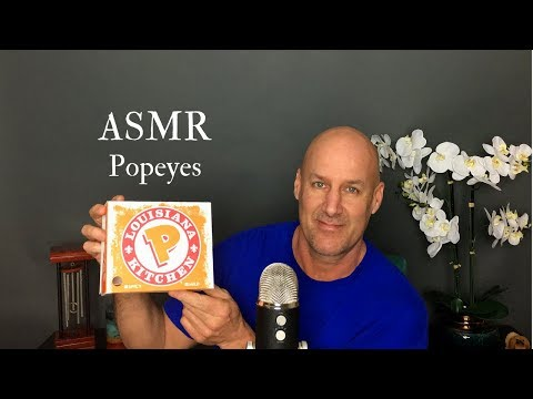 ASMR: Eating Popeyes~Ear To Ear~Whisper