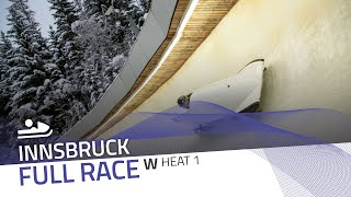 Innsbruck | Women's Monobob World Series Heat 1 | IBSF Official