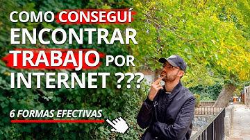 ✌️ Encontrar Trabajo Por Internet Fácil y Rápido. Formas Efectivas Para Tener Empleo - Víctor Robles